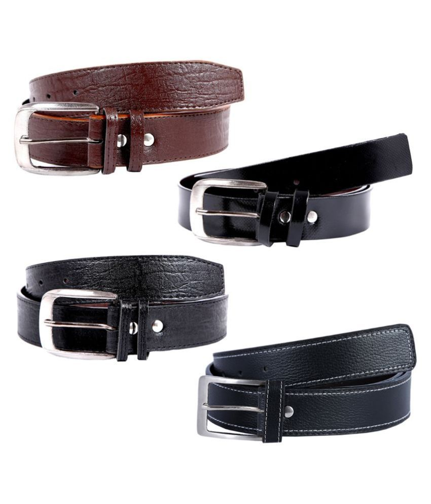 Hardy's Collection Multicolour Belt - Pack of 4