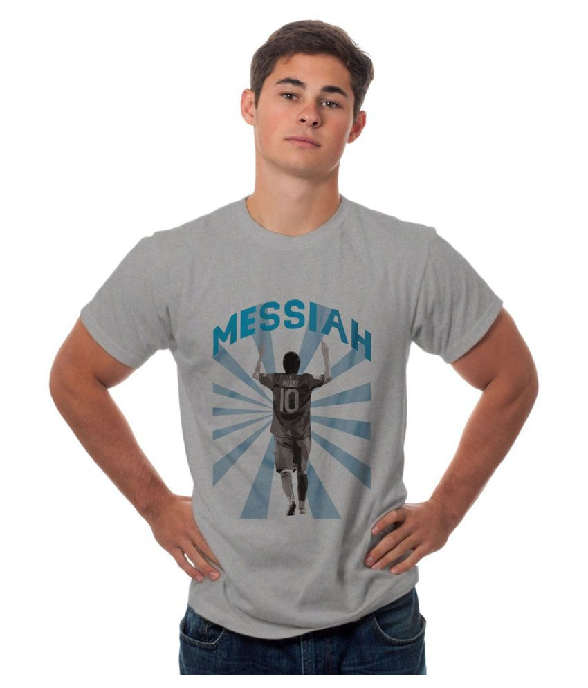 Sowing Happiness Grey Round T Shirt