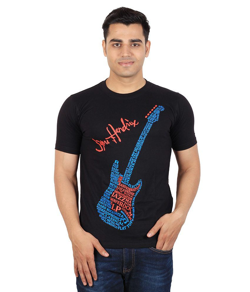 Tymstyle Typographic Guitar T-shirt