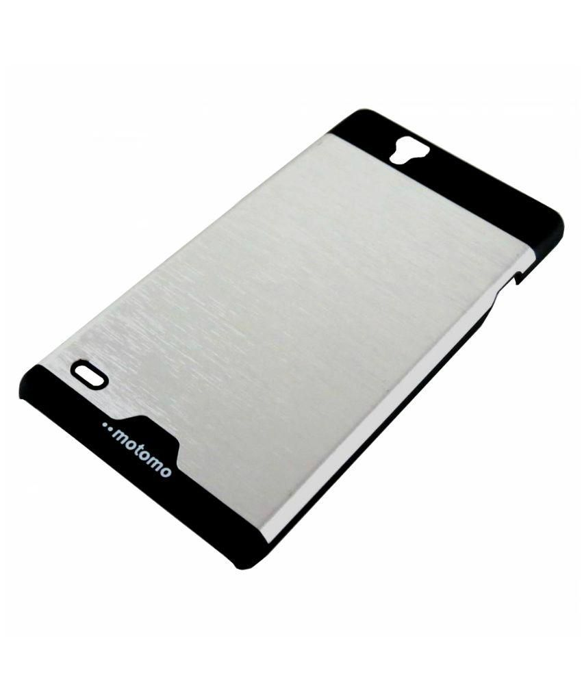 buy popular 01757 bfb2c Sony Xperia C4 / C4 Dual Motomo Back Cover By Snmobista - Silver