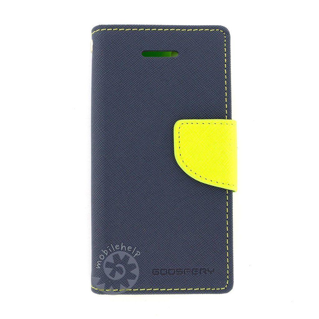 Tingtong Mercury Goospery Diary Flip Cover for Xiaomi Redmi 1S - (Blue)