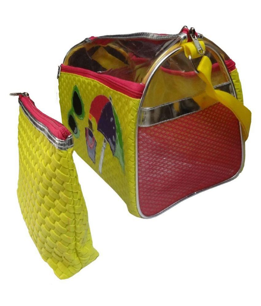 Darvesh Yellow Gym Bag