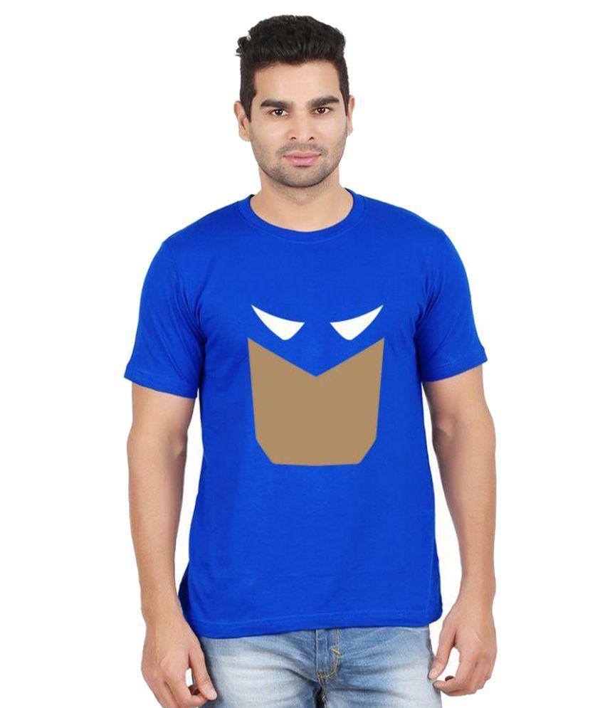Gallop Blue Round T Shirt