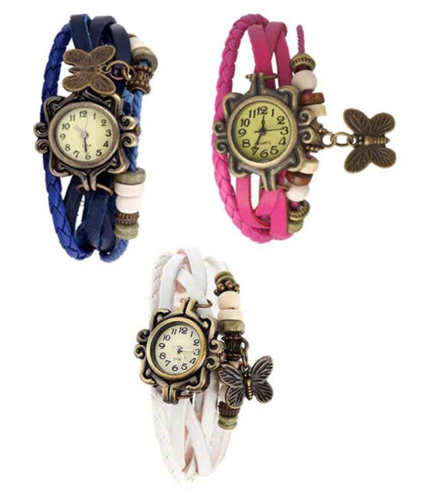 6ea751487 Glory Multicolour Analog Watches - Buy 1 Get 2 Free Price in India: Buy Glory  Multicolour Analog Watches - Buy 1 Get 2 Free Online at Snapdeal