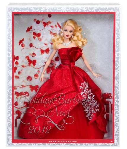 Mattel W3465 Barbie Collector 2012 Holiday Doll