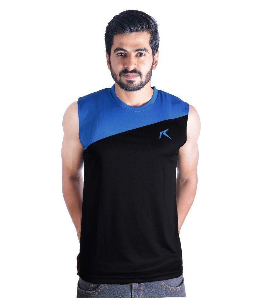 Repugn Black Polyester T-Shirt