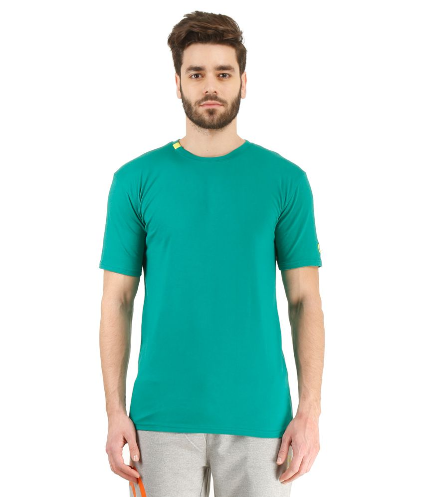 Revo Green Cotton T-Shirt