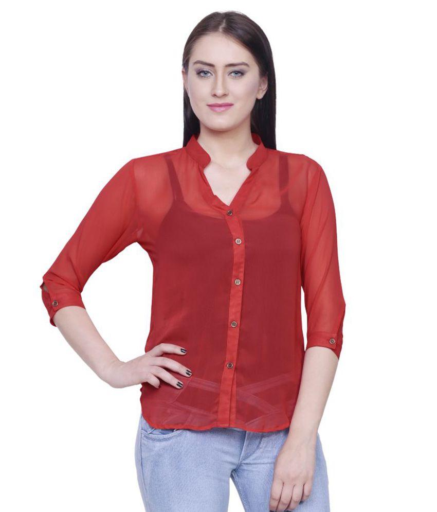 Nimya Red Blend Shirts