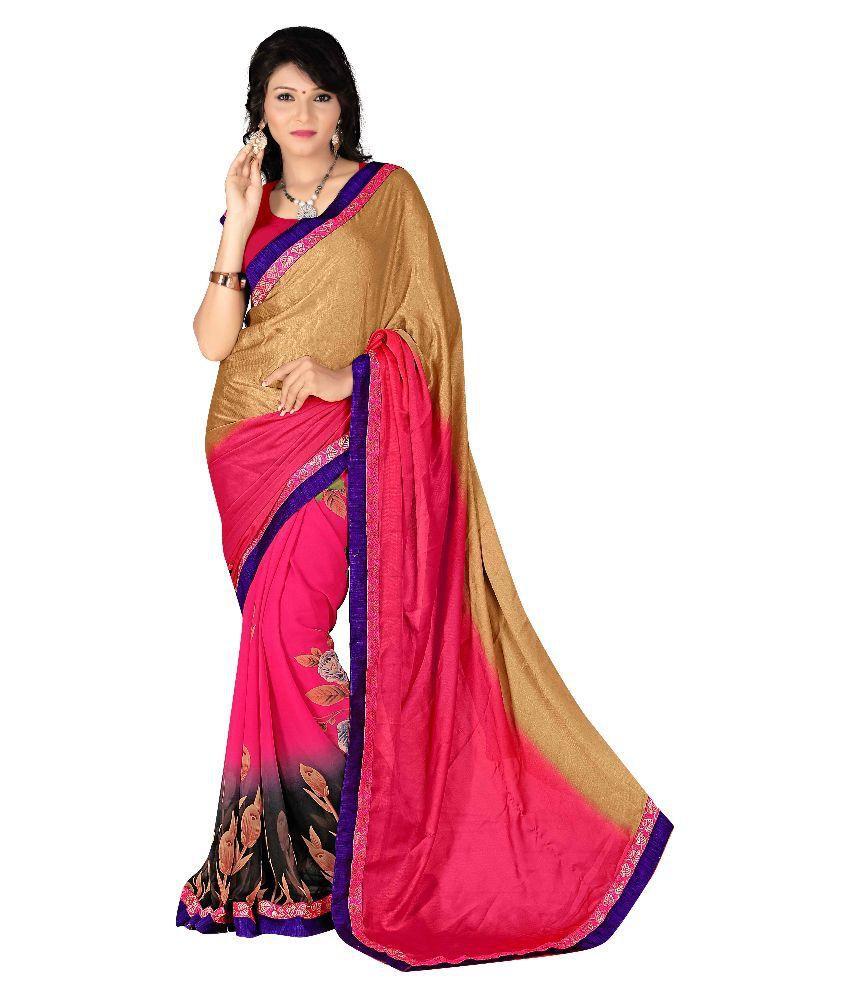 Dhawani Marketing Multicoloured Cotton Silk Saree