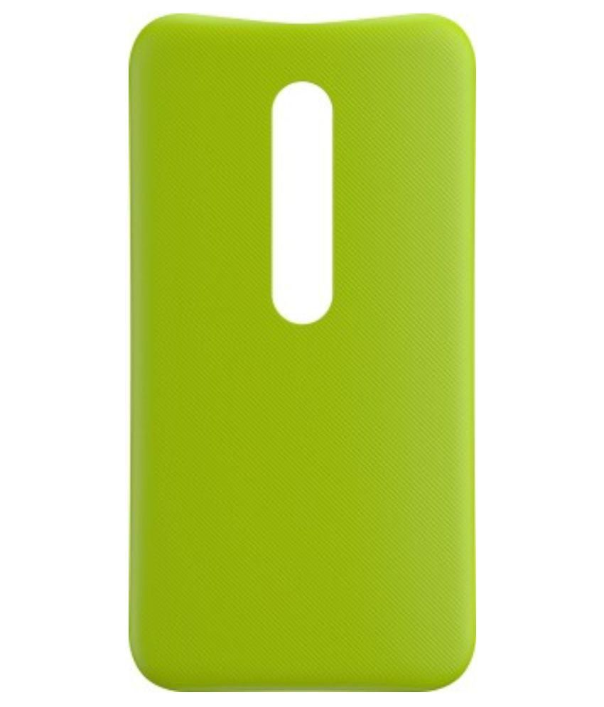 finest selection 7d426 23ed2 Prosper Back Replacement cover for Moto G (3rd Gen)(Lime)(Original Motorola)