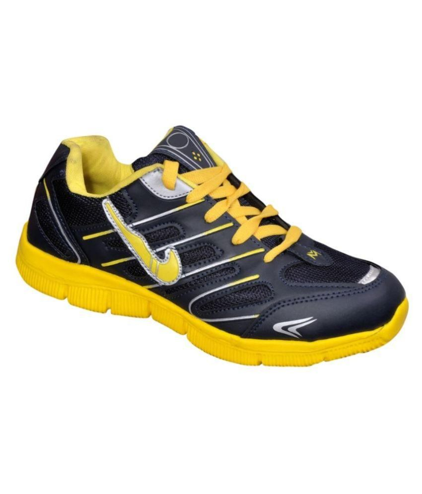 The Scapra Shoes Navy Running Shoes