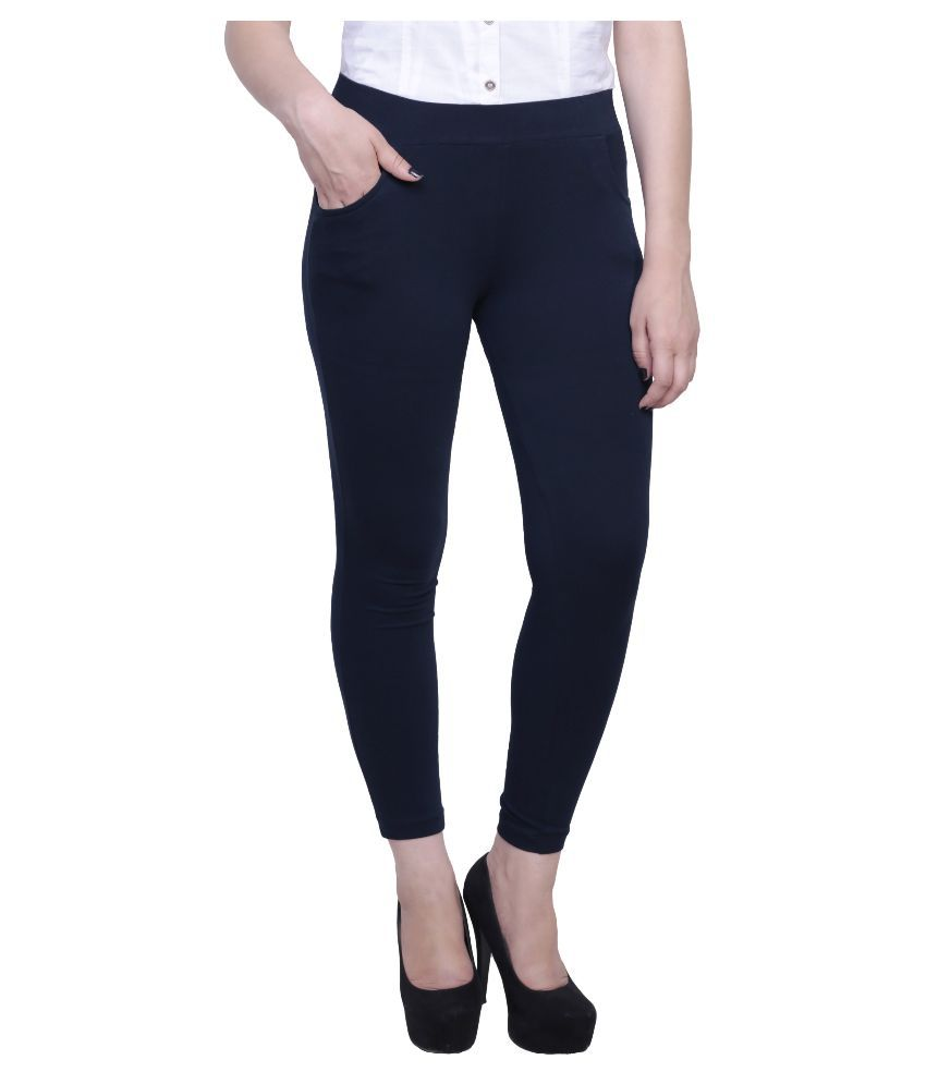 Faded Finch Navy Jeggings Skinny