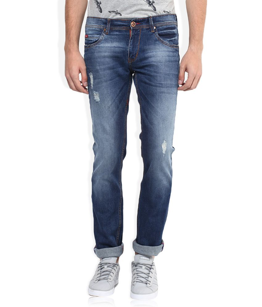 e3538d9a Lee Cooper Blue Skinny Fit Jeans - Buy Lee Cooper Blue Skinny Fit Jeans  Online at Best Prices in India on Snapdeal