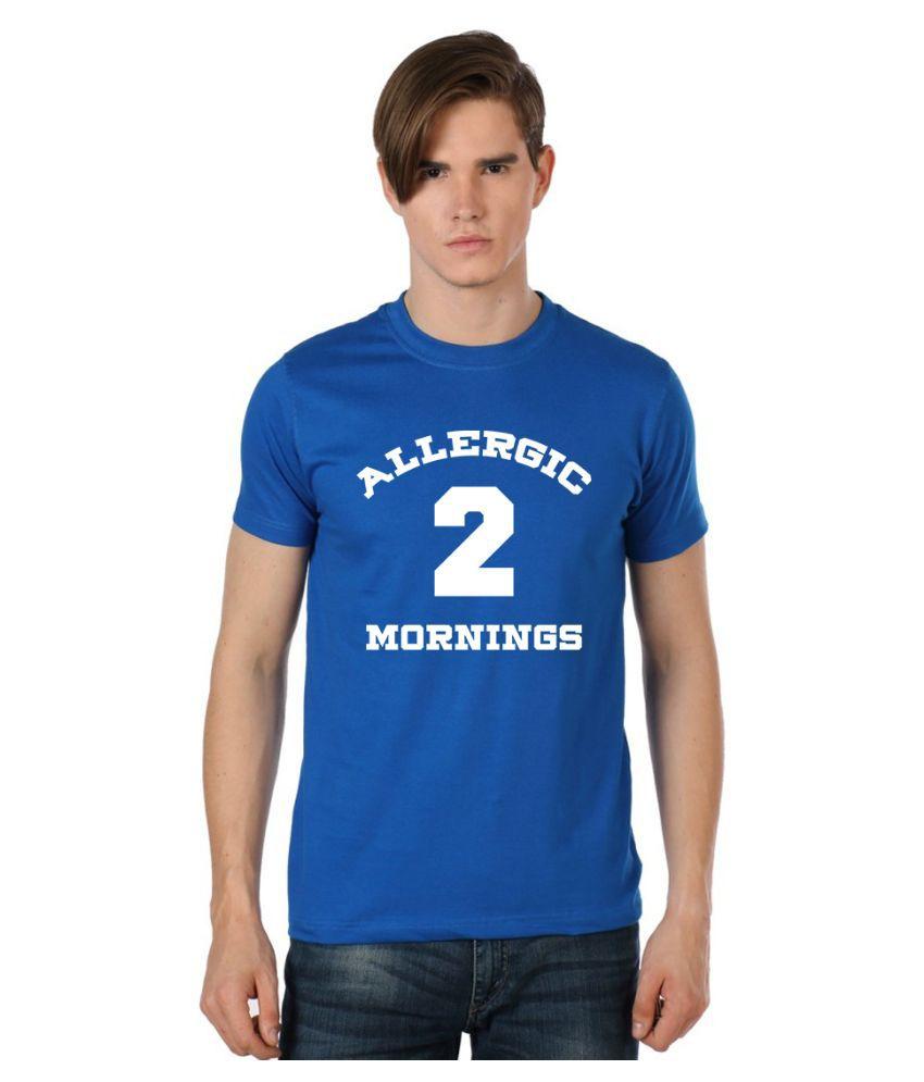 Stylexo Blue Round T Shirt