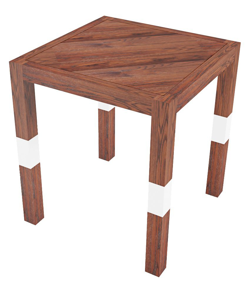 Smalshop SawMill Solid Wood Side Table