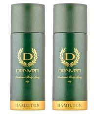 Denver Hamilton Deodorant Body Spray 180 Ml Pack Of 2