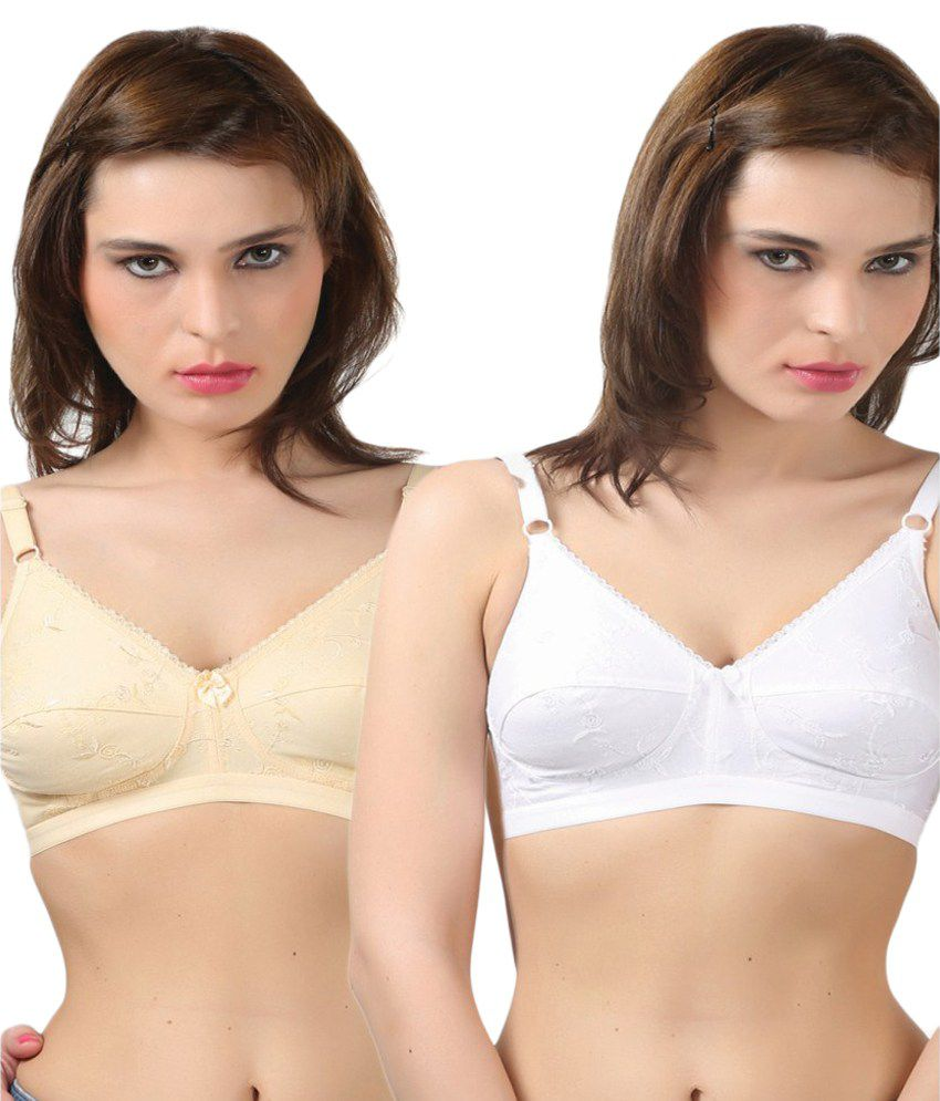 a1a5a7846d Buy BODYCARE Beige Cotton Bras Online at Best Prices in India - Snapdeal