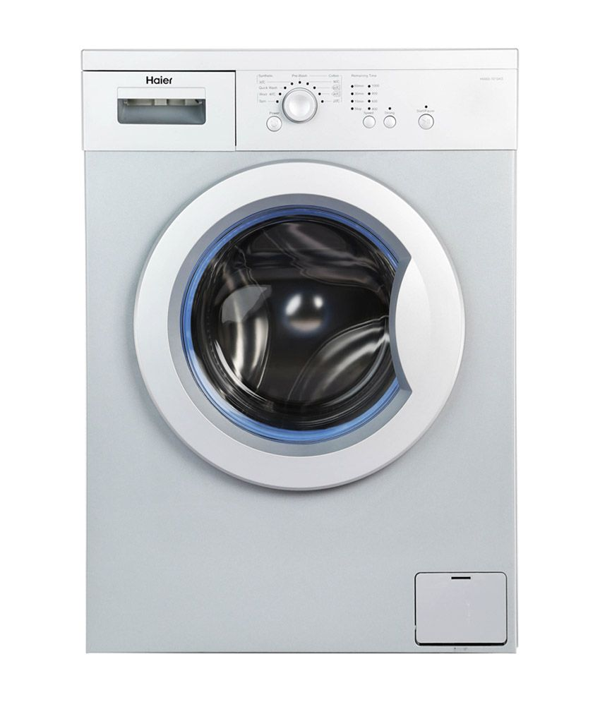 haier 6 kg hw60 1010as fully automatic front load washing. Black Bedroom Furniture Sets. Home Design Ideas