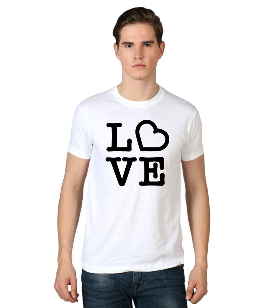 Stylexo White Round T Shirt
