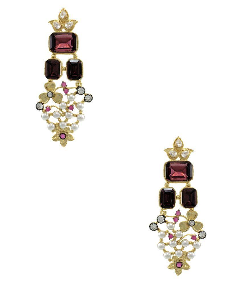 Orniza Multicolour Hanging Earrings
