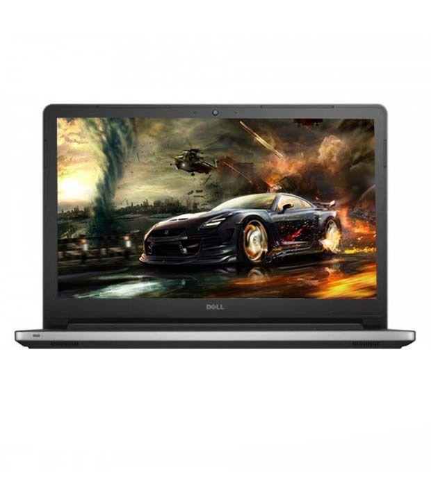 Dell Inspiron 15 5558 Notebook (5th Gen Intel Core i5- 8GB RAM- 1TB HDD- 39.62 cm (15.6)- Windows 8.1- 2GB Graphics) (Silver)