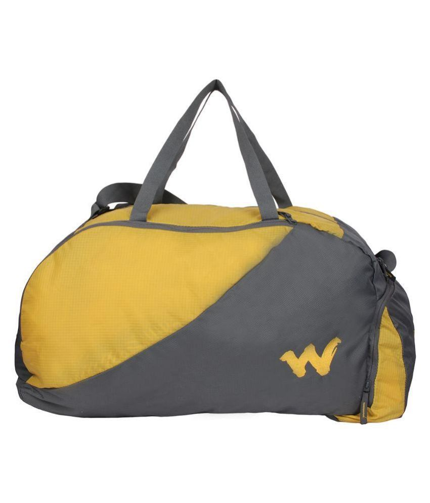 Wildcraft Polyester Multi Color Duffle Bag