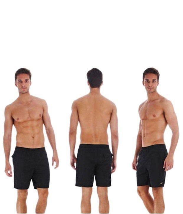 Speedo Black Aquapack Water Shorts 46 cm