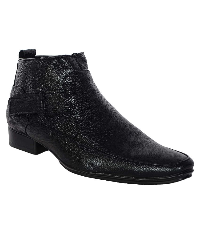 1Aarow Black Boots