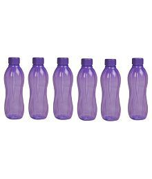 Tupperware Purple 500 Ml Fridge Bottle Set Of 6