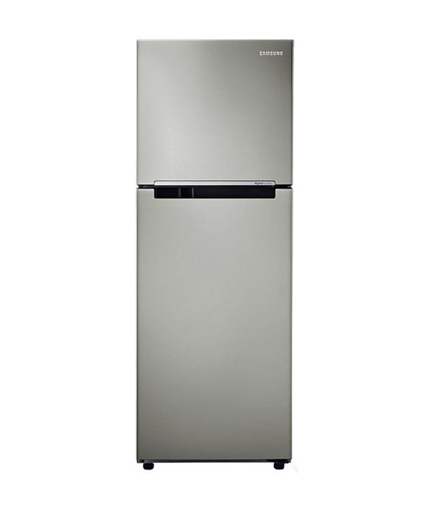 Samsung 231 Ltrs RT28K3083SP/HL Frost Free Double Door Refrigerator Platinum Inox