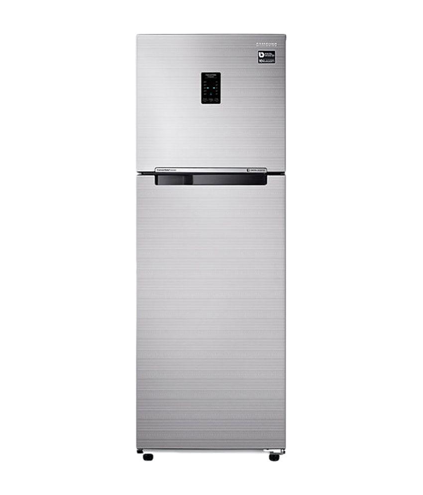 Samsung 275 Ltr 3 Star RT30K3723S8/HL Double Door Refrigerator [with Convertible Feature] - Elegant Inox