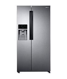 Samsung 575 Ltrs RS58K6417SL/TL Frost Free Side-By-Side-Door Refrigerator EZ Clean Steel (ALF)
