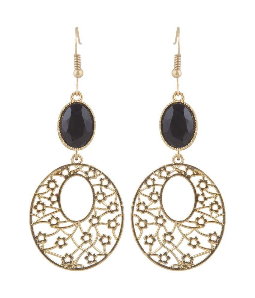 Inaya Black Earrings
