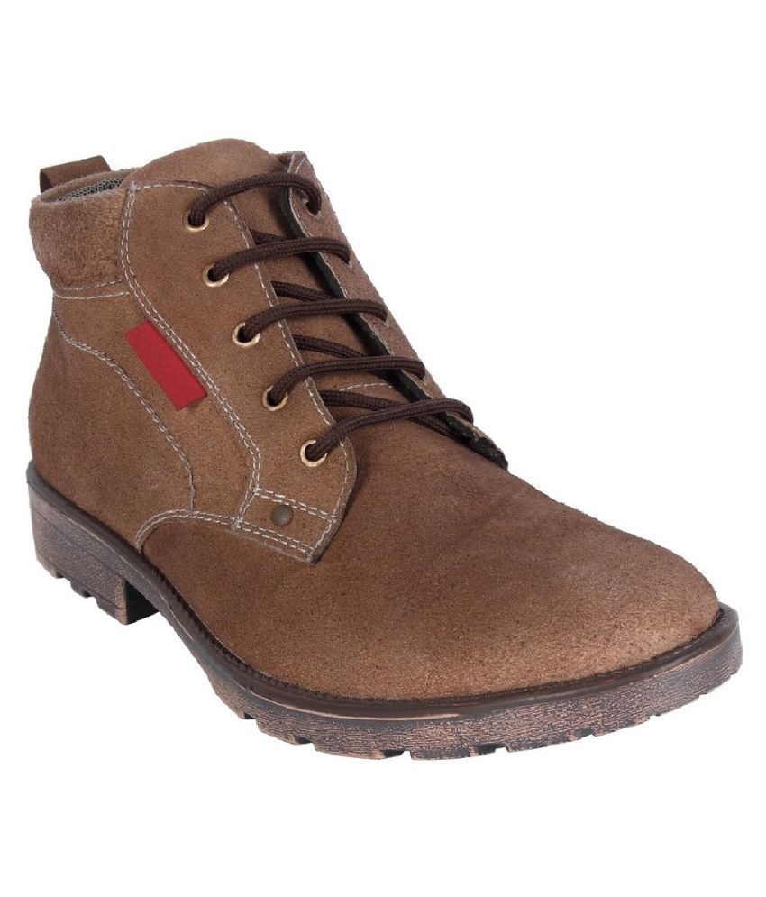 Fine Arch Brown Boots
