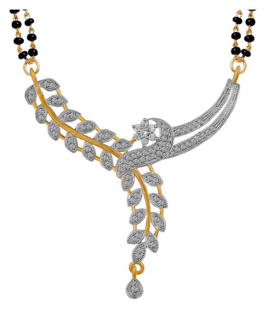Jewel Shine Silver Mangalsutra