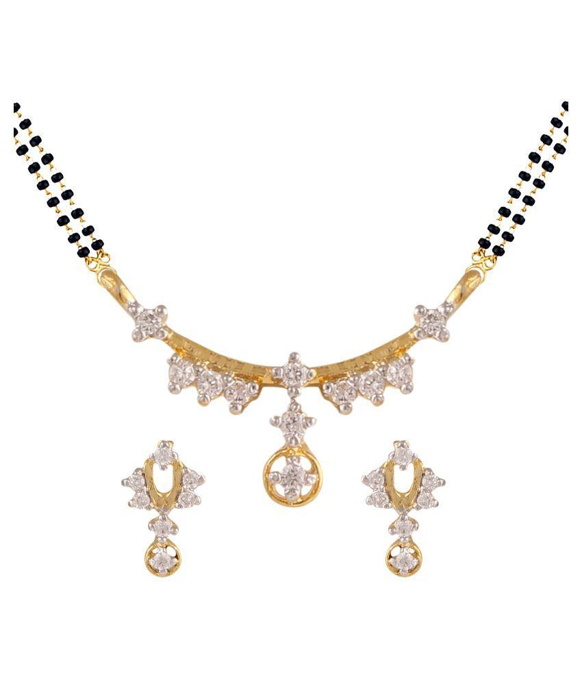 Parinaaz Gold Mangalsutra Set