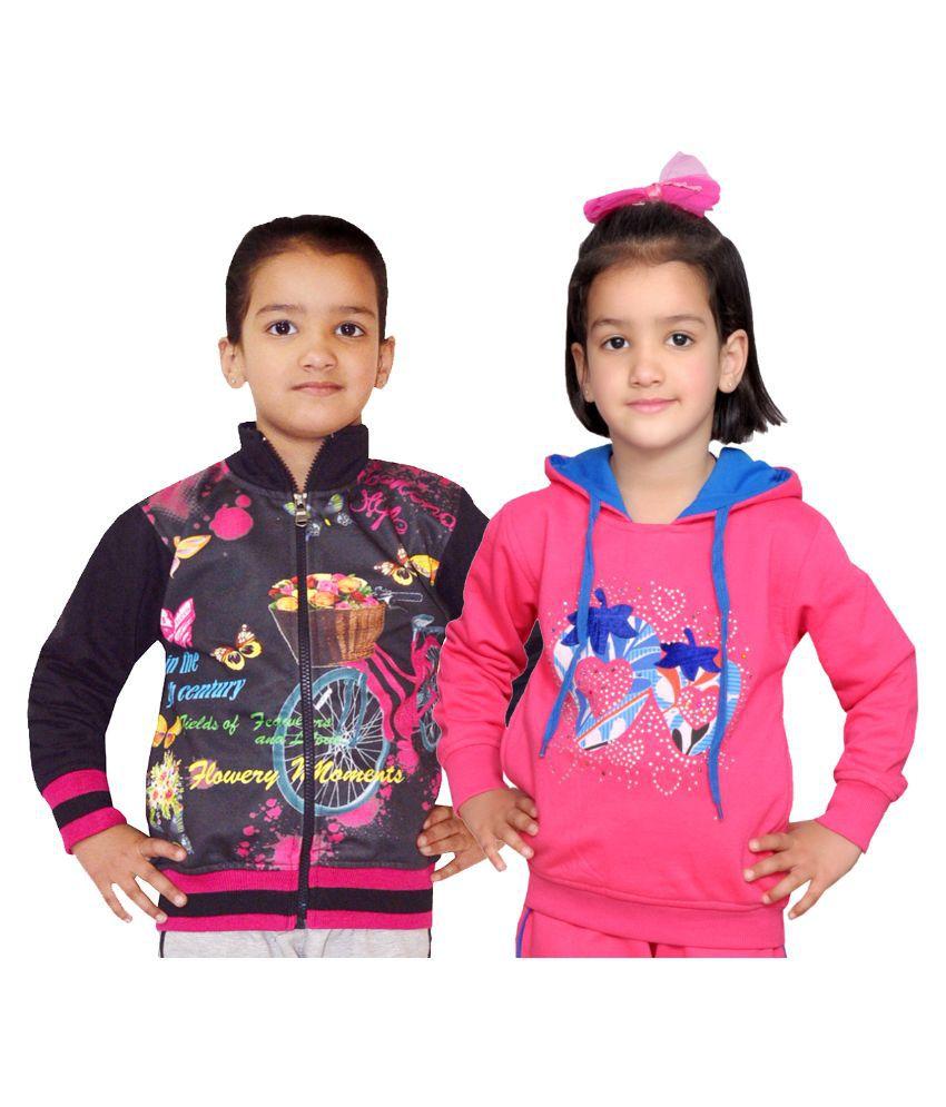 Shaun Multicolor Sweatshirt - Pack of 2