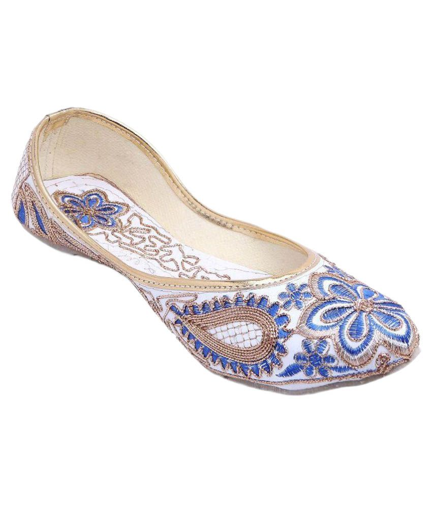 Vinayak Collection Blue Flats