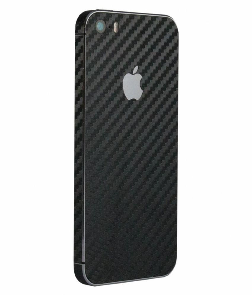separation shoes 0f5a3 73fc0 Exclusive Full Body Black Color Carbon Fiber Vinyl Mobile Skin Sticker For  Apple IPhone 5/5S