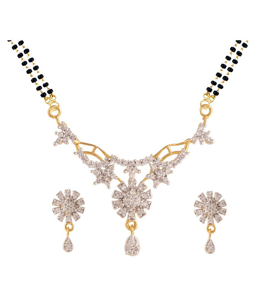 Parinaaz Multicolor Designer Mangalsutra Set