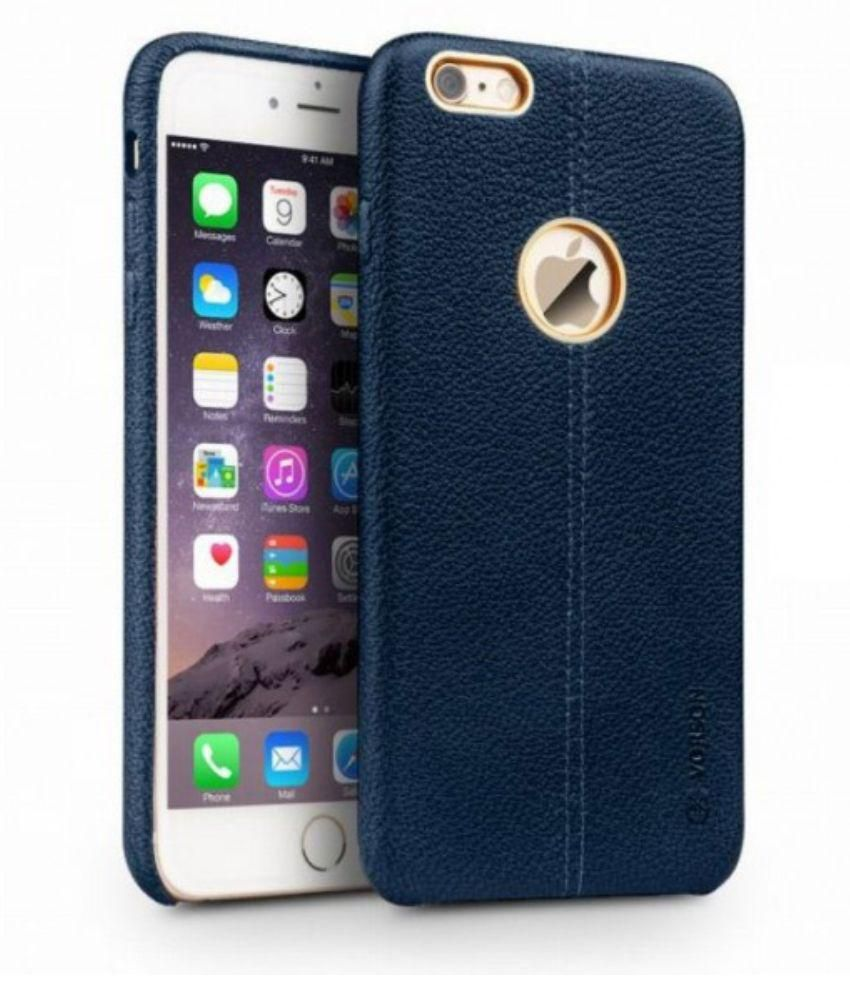 cheap for discount dde16 1aabe Vorson Double Stitch Leather Case For Apple iPhone 6 6S