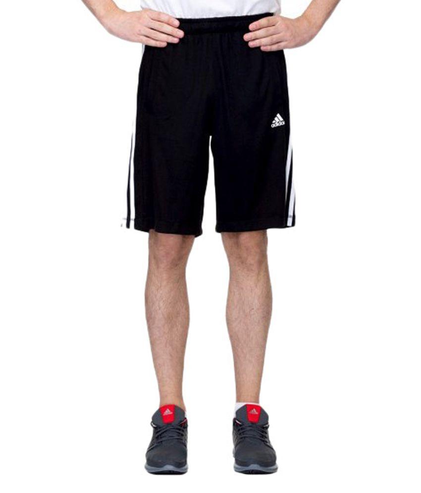 Adidas Black Ess Black Shorts