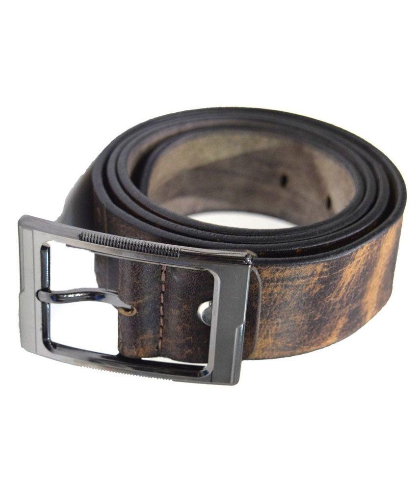 Moochies Brown Leather Belt