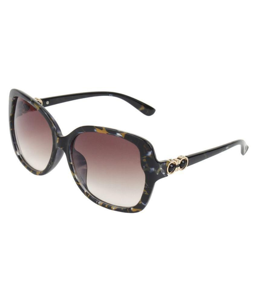f8b78801cb2 Zyaden Black Oversized Sunglasses ( SW307 ) - Buy Zyaden Black Oversized  Sunglasses ( SW307 ) Online at Low Price - Snapdeal