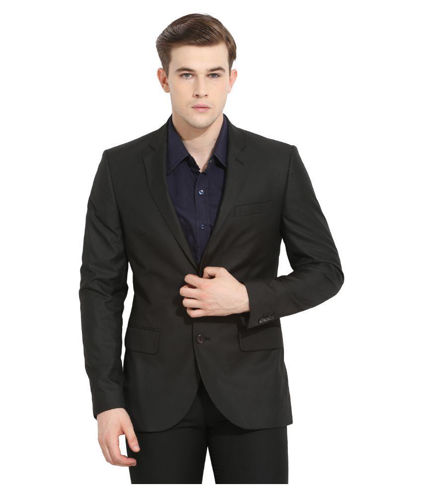 Envoy Black Casual Suits