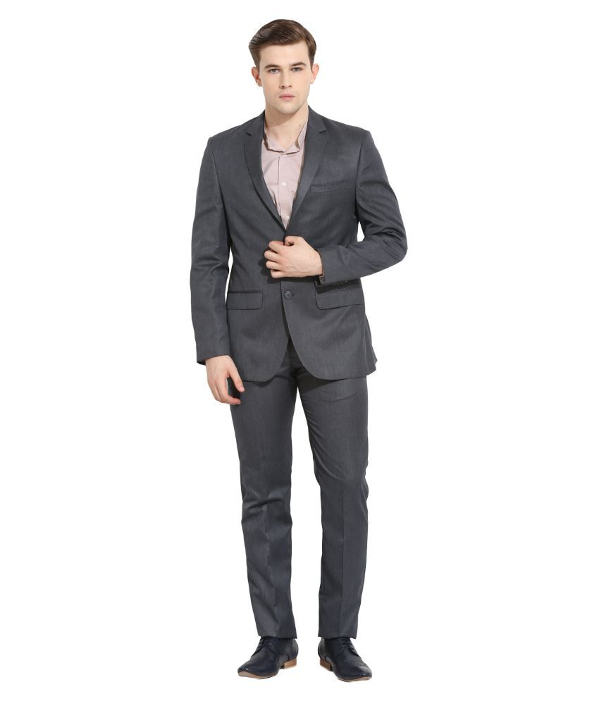 Envoy Grey Casual Suits