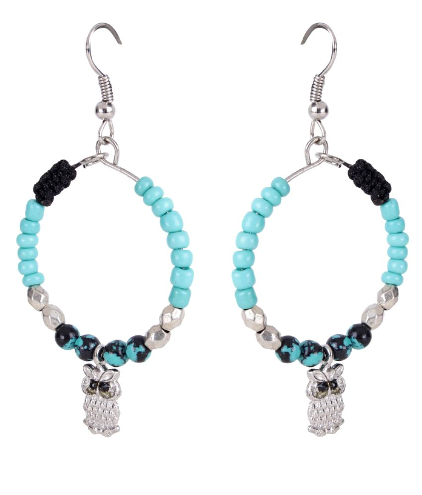 Trendy Baubles Multicolour Alloy Hanging Earrings