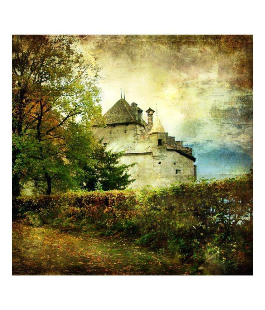 Artzfolio  Art Gallery Canvas Art Prints With Frame Single Piece