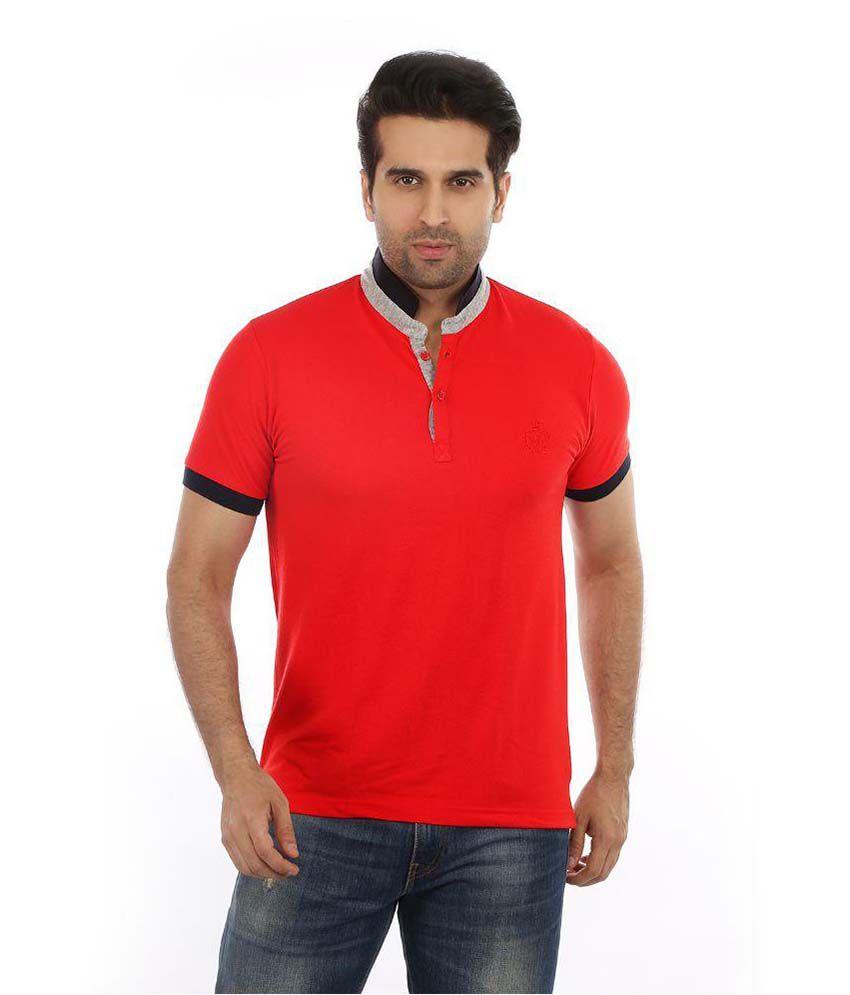 Got It Red High Neck T-Shirt