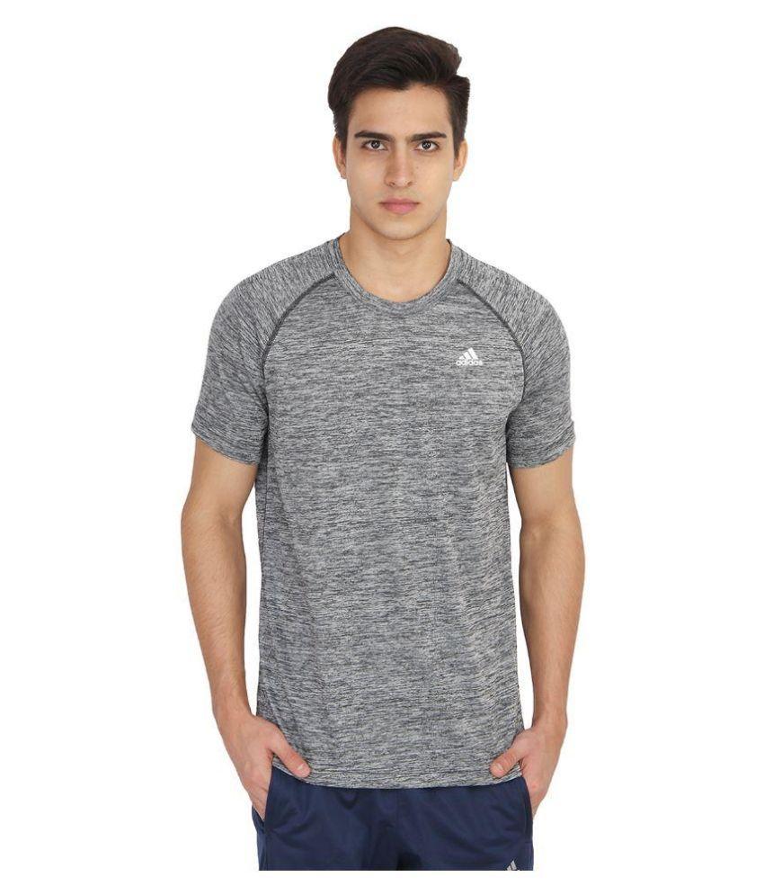 Adidas Grey Round T-Shirt